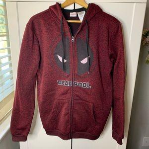 Men's Marvel Deadpool Graphic Hoodie Sweatshirt